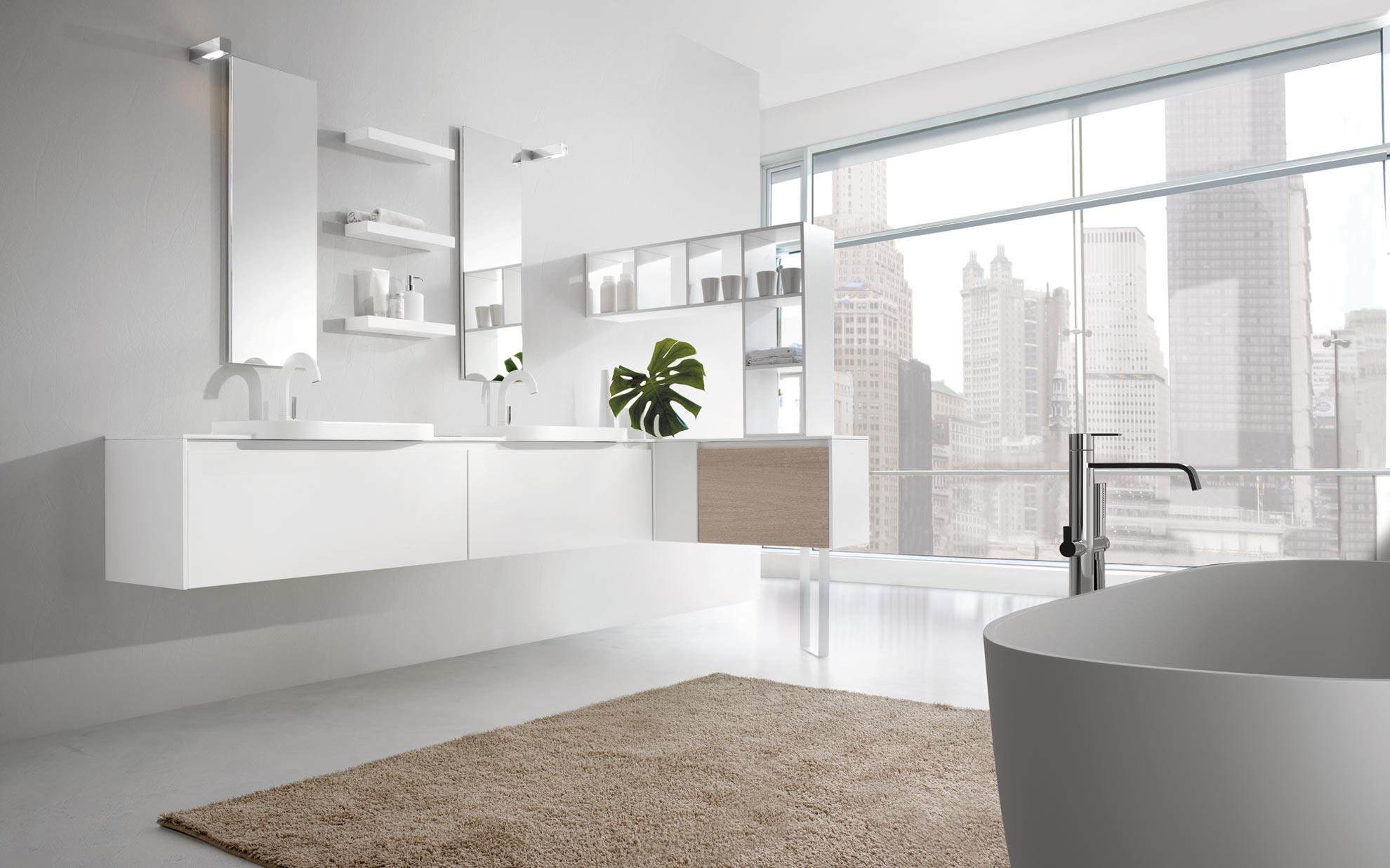 Arredo bagno mobili bagno made in italy bathroom furniture - Idea mobili bagno ...